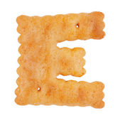 "Tasty cookies in the form of the letter ""e"" — Stock Photo"