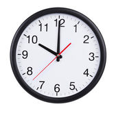 Ten hours on a clock face — Stock Photo