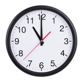 Eleven hours on a clock face — Stock Photo