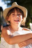Cheerful happy girl — Stock Photo