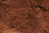 Clay soil — Stock Photo