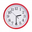 Half of the third on a round clock face — Stock Photo