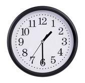 L'horloge est à vingt minutes de la seconde — Photo