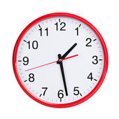 Half of the second round on a clock face — Stock Photo