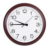 Quarter to ten o'clock on the dial — Stock Photo