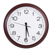 Half past five o'clock — Stock Photo