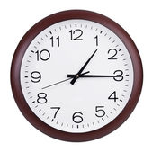 Clocks shows fifteen minutes of the second — Stock Photo
