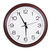 Five to six hours on the clocks — Stock Photo