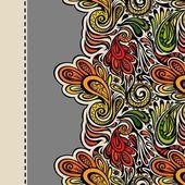 Paisley seamless mönster — Stockvektor