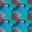 Seamless abstract floral pattern — Stock Photo