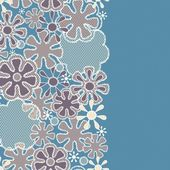 Seamless abstract lace floral pattern — Stock Photo