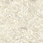 Seamless abstract curly floral pattern — Stock Photo