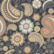 Seamless elegant paisley pattern — Stock Photo #31641655