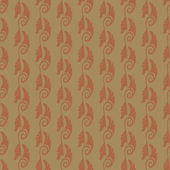 Art Nouveau seamless pattern — Stock Vector