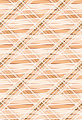 Geometric seamless pattern in warm colors. — Stock Vector
