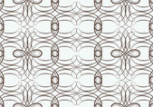 Seamless pattern with weaving circle mesh — Stock Vector