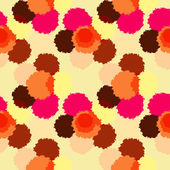 Seamless pattern with colorful grunge circles. — ストックベクタ