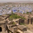 Stock Photo: Historic Blue City of Jodhpur