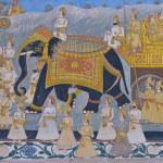 Постер, плакат: Indian Mural