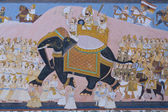 Rajput Mural — Stock Photo