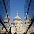 St Paul's Reflected - Stock Photo