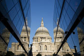 St Paul's Reflected — Stock Photo