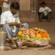 Fruit seller — Stock Photo #12445053
