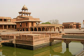 Deserted city of Fatehpur Sikri — Stock Photo