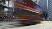 Blurred Tram — Stock Photo