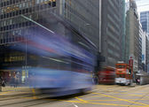 Speeding Tram — Stock Photo