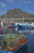 Port rybacki — Zdjęcie stockowe
