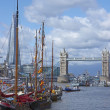 Boats on River Thames — Stock Photo #17355269