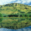 Drakensberg Reflection - Stock Photo