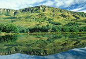 Drakensberg Reflection — Stock Photo