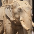 Stock Photo: Marble Elephant