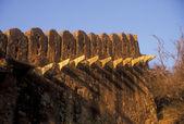 Ramparts of Bundi Fort — Stock Photo