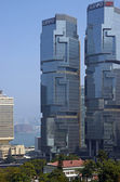 High Finance in the Business District of Hong Kong — Photo