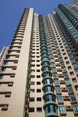 在香港生活高 — 图库照片