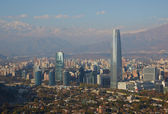 Modern Santiago — Stock Photo