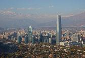 Modern Santiago — Stock Photo