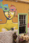 Murals of Valparaiso — Stock Photo
