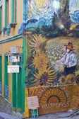 Street Art of Valparaiso — Stock Photo