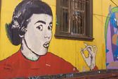 Street Art of Valparaiso — Stock Photo