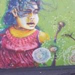 Murals of San Miguel — Stock Photo #47855879