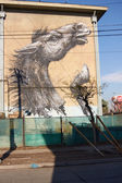 Murals of San Miguel — Stock Photo