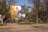 Murals of San Miguel — Stock Photo