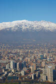 Winter in Santiago — Stock Photo