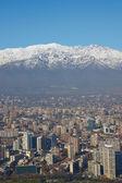 Winter in Santiago — Stock Photo
