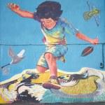 Murals of San Miguel — Stock Photo #48115901