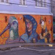 Urban Art of Valparaiso — Stock Photo